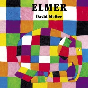 Elmer el elefante multicolor