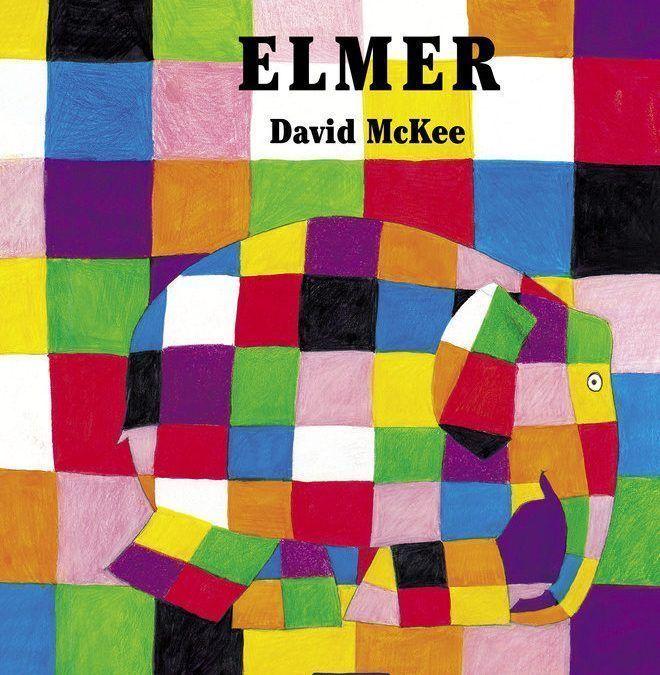 🐘 Elmer el elefante multicolor.