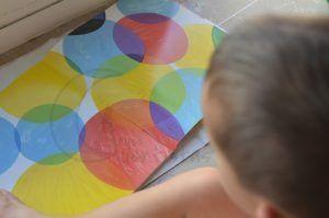 Manualidades Un libro por Hervé tullet ventana