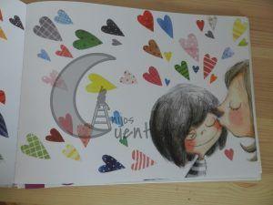 ¿De qué color es un beso? de Rocio Bonilla. 2