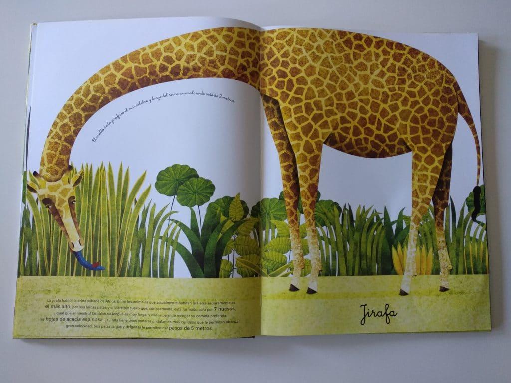 El gran libro de los animales gigantes y el pequeño libro de los animales más pequeños 12