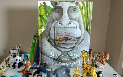 El gran libro de los animales gigantes y el pequeño libro de los animales más pequeños