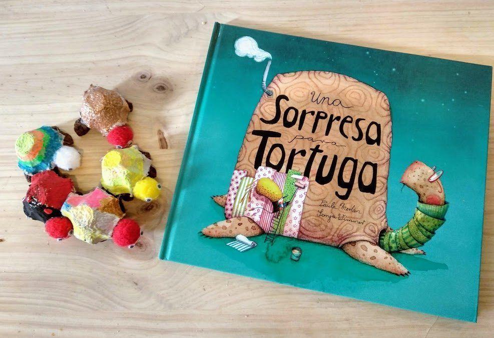 Una sorpresa para Tortuga- Manualidad con Cuetno