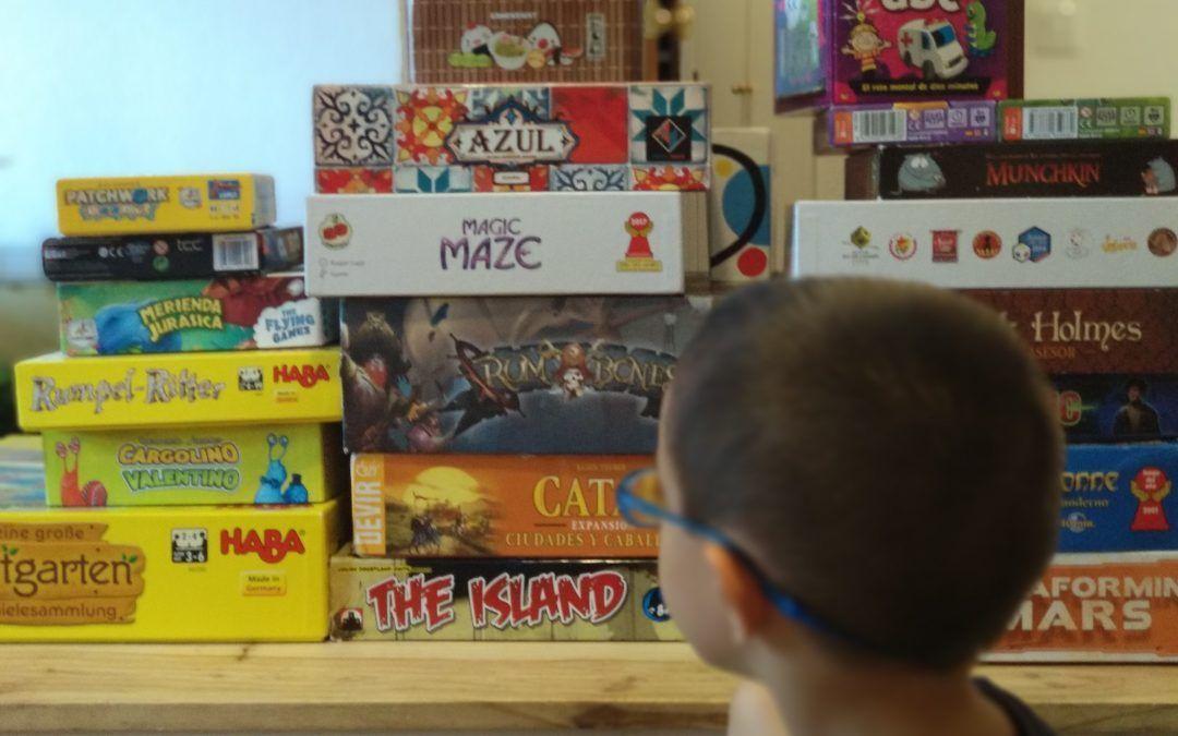 Los juegos de mesa en familia