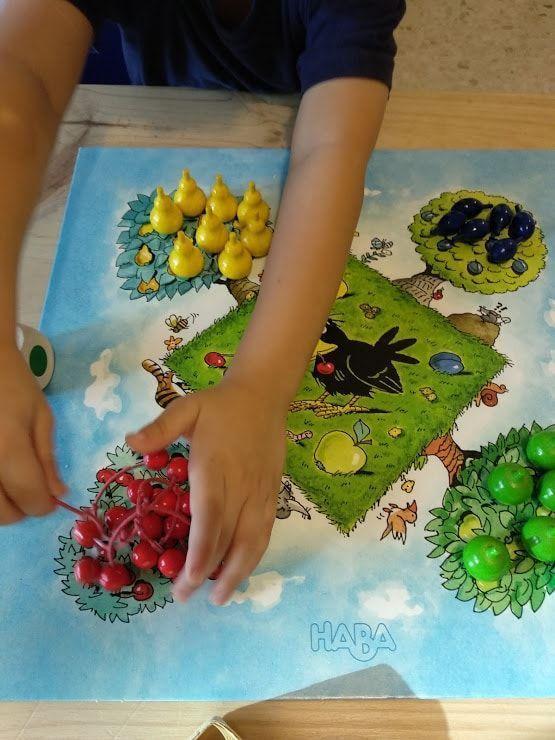 Tablero del juego El frutal