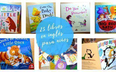 25 libros en inglés para niños
