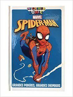 Primeros cómics de superheroes para niños de primaria