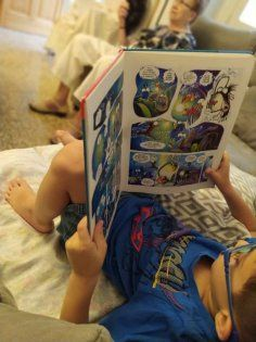 Cómics para fomentar la lectura