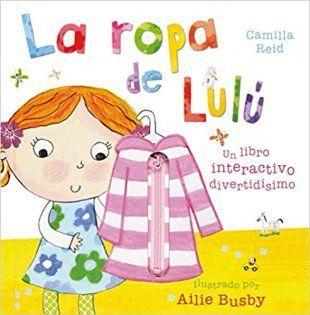 La ropa de Lulú libro interactivo para bebés