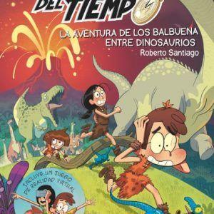 Los forasteros del tiempo y la aventura de los Balbuena entre dinosaurios