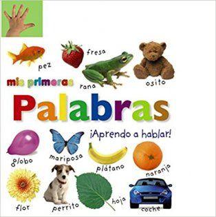 libro con imagenes reales para bebés aprender hablar