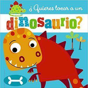 libro con textura para bebés de dinosaurios