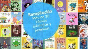 Cómics para niños de preescolar y primaria de 3 a 12 años