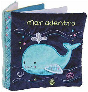 Mar adentro libro de tela para bebes