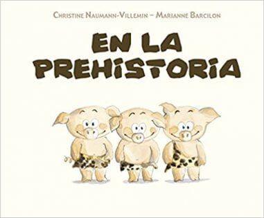 Cuento infantil sobre la prehistoria para niños de tres años