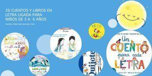 Cuentos y libros en letra ligada para aprender a leer niños de 3 a 6 años