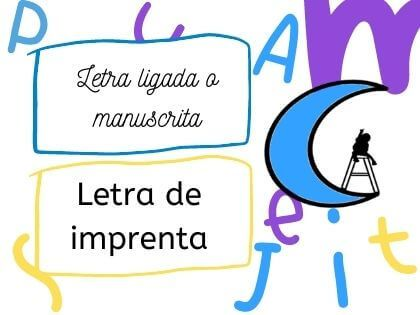 Letra ligada para aprender a leer