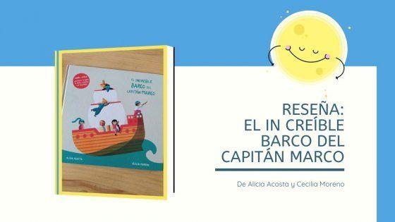 Reseña del cuento El increible barco del Capitán Marco